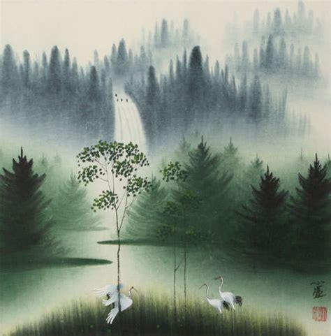 Landscape Paintings Usa Watercolor Landscape