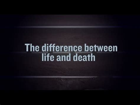 biography and documentary difference the difference between life and death a 20 minute film