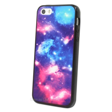 galaxy printed back for apple iphone 5 5s cover 5g