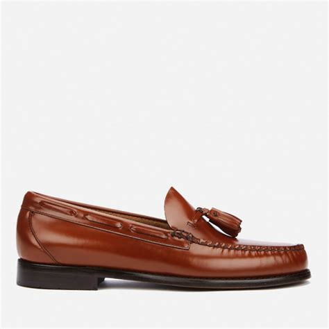 armani exchange loafers bass weejuns s larkin tassle leather loafers mid