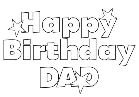 happy birthday papa coloring pages printable 16 happy
