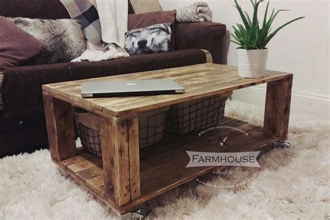 Pallet Wood Coffee Table Diy Pallet Coffee Table Useful Guide For You