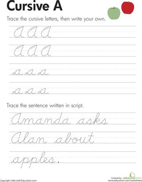 Cursive Handwriting Practice Worksheets Az by Pin By Kristine Sonnenberg On Education