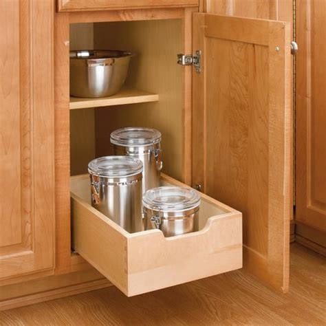 Rev A Shelf Drawer by Rev A Shelf Wood Pullout Drawer 11 Quot Wide 4wdb 12 Cabinetparts