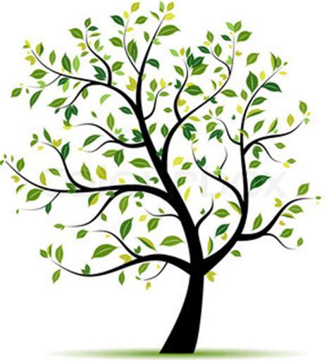 cute simple tree designs free clip art baum fr 252 hling gr 252 n f 252 r ihr design stock vektor colourbox