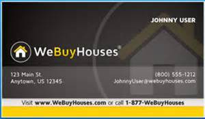 we buy houses business cards we buy houses marketing portal the definitive source for