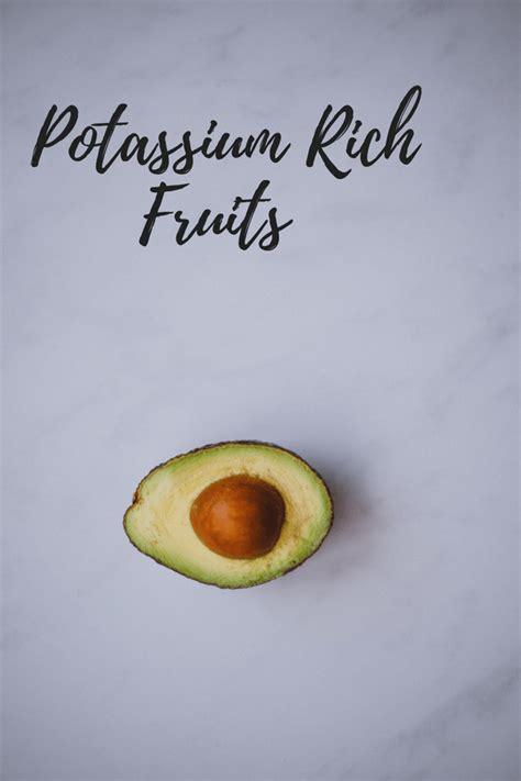 fruit with potassium top 12 potassium rich fruits that you should start
