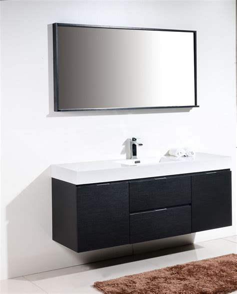 60 vanity single sink bathroom modern with bath 60 inch wall mount single sink modern bathroom vanity