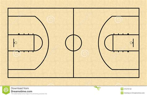basketball court floor plan basketball court stock vector image of panel graphic