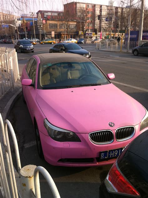 pink bmw emblem car colours the thrills