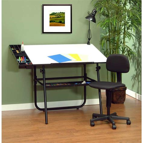 Studio Designs 4 Piece 30 Quot X 42 Quot Ultima Drafting Table Set Drafting Table Set