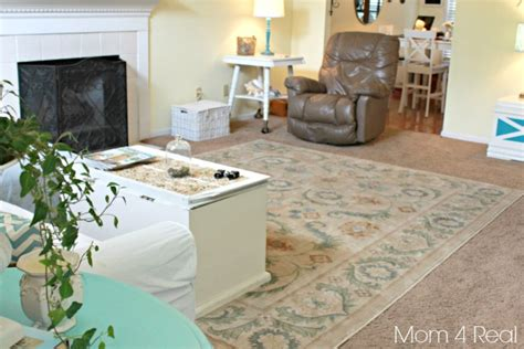rug on top of carpet use area rugs on carpet to spruce up your space mohawk giveaway mom 4 real