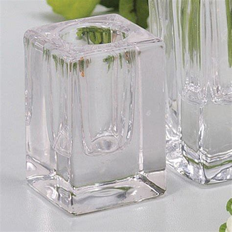 kerzenhalter aus glas kerzenst 228 nder aus glas was einkaufen de