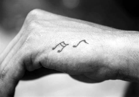 simple tattoo in hand for man 70 simple hand tattoos for men cool ink design ideas