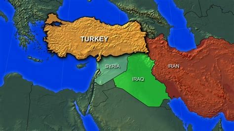 map of iran and syria after syrian attack turkey oks foreign troop deployment