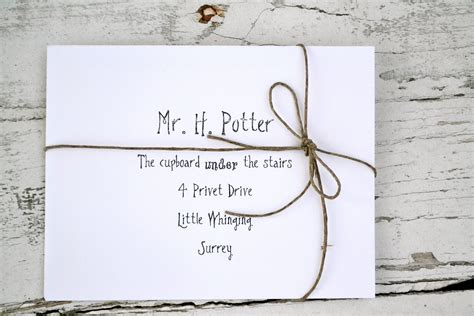 Harry Potter Acceptance Letter Clip harry potter mail backdrop everyday magazine