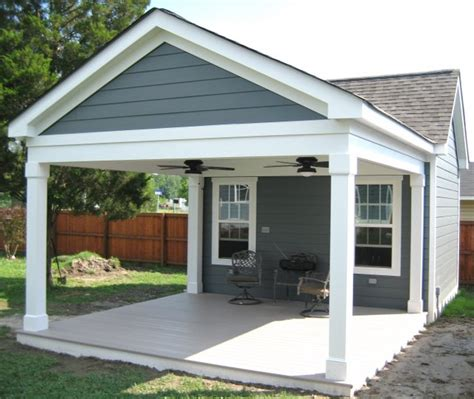 covered porch plans fence pro covered and screened porches