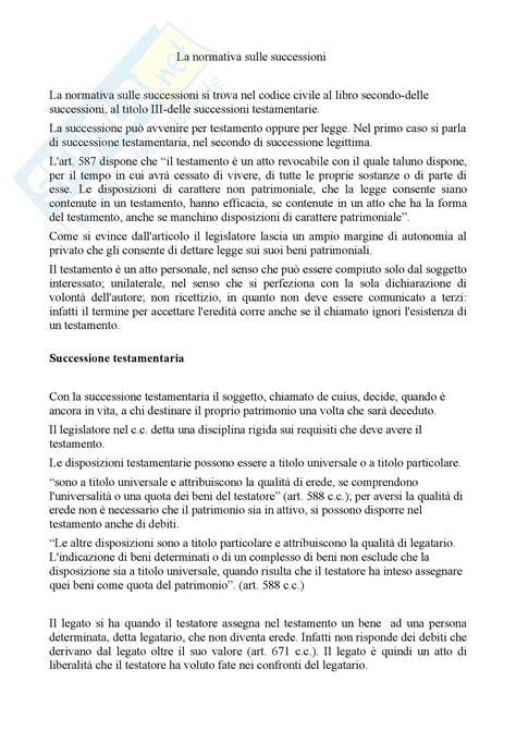 testamento olografo erede universale diritto privato la disciplina testamento