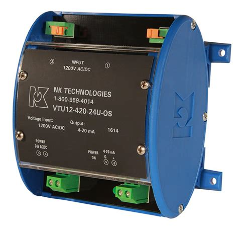 Ac Voltage Transducer 4 20ma by Ac Dc Voltage Transducers Nk Technologies