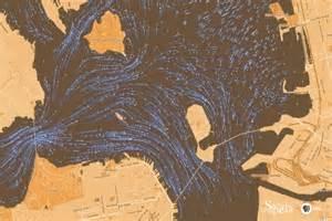 bay of secrets escape the alcatraz escape flow models of san francisco bay secrets of the dead pbs