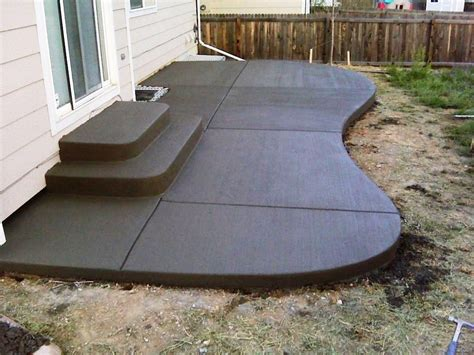 concrete ideas for backyard concrete patio designs layouts patio ideas and patio