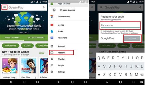 Play Store Redeem How To Redeem Play Gift Cards Droidviews