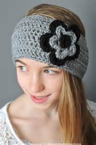 crochet headbands crochet pattern ear warmer headband with by petalstopicots
