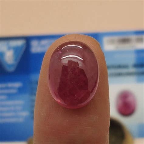 Merah Delima Sertifikat 3 mustika merah delima lulus tes sertifikat pusaka dunia