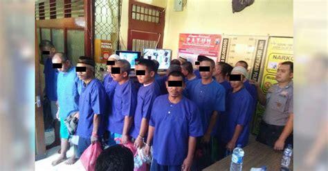 Tahanan Gas Warna polres bojonegoro titipkan 19 tahanan ke rutan bojonegoro berita bojonegoro