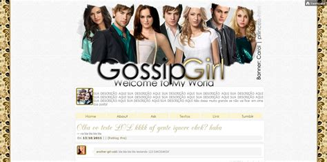 tumblr themes gossip girl never give up your dream