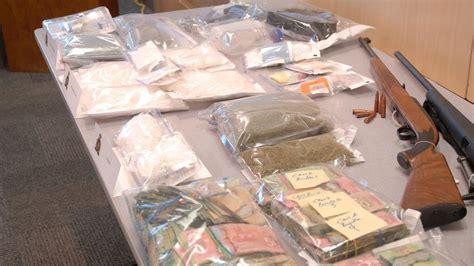 I Heart Radio 1000 Dollar Giveaway - 6 men 1 woman arrested after major drug bust in west kelowna