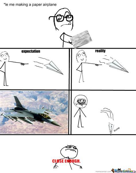 Plane Memes - paper plane by ghalithegreat meme center
