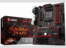 MSI Intros B350 Gaming Plus Motherboard   TechPowerUp Forums M.2 Port Specs
