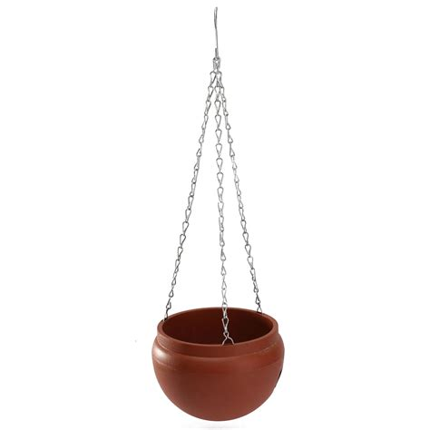 Hanging Planter Chain hanging flower pot with chain planter plastic basket vase
