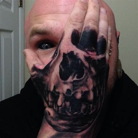 tattoo hand mask pin by wayne kepler on dark stuff pinterest