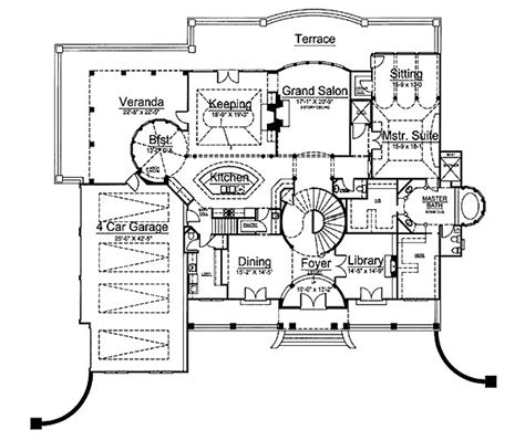 historic house plans revival house design plans