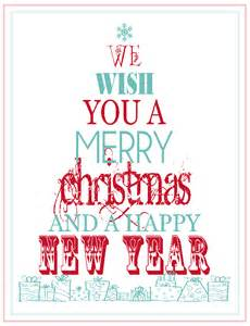 free printable merry christmas happy new year the