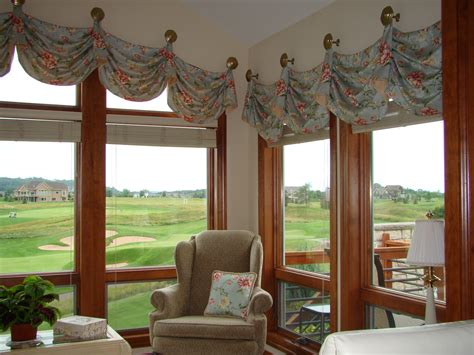 sunroom curtains window treatments before and after challenging arched window valance a