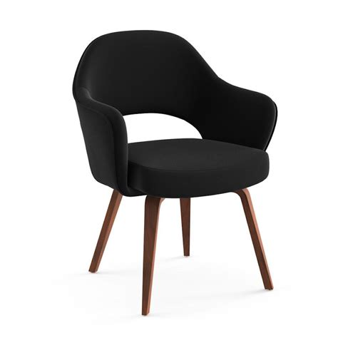 saarinen executive armchair wood legs saarinen executive arm chair wood legs modern furniture