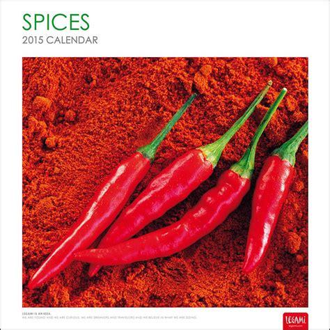 Spices Calendars Spices 2015 Wall Calendar 8057093536277 Calendars