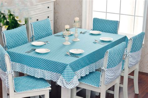 high quality kitchen dining table cloth and chair cover