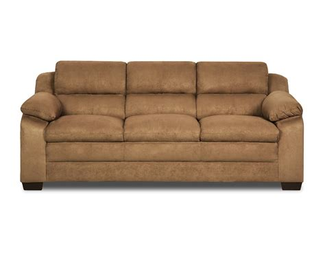 pillow top couches simmons bixby pillow top sofa latte