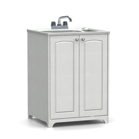 Laundry Sink Cabinet Home Depot by As All In One Laundry Tub And Cabinet Arch Asb