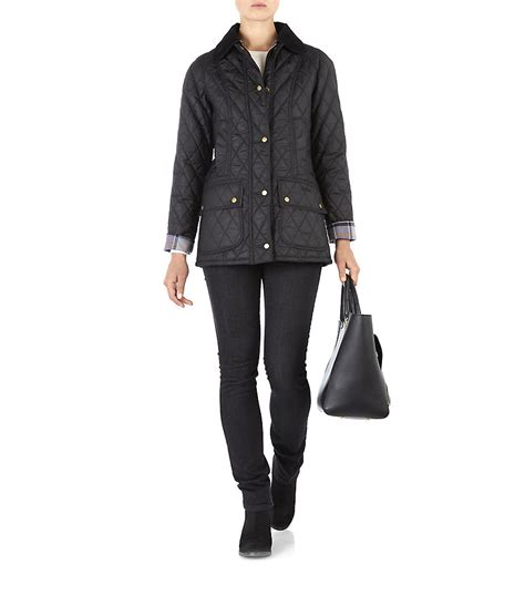 Barbour Quilted Beadnell by Barbour Quilted Beadnell Jacket In Black Lyst
