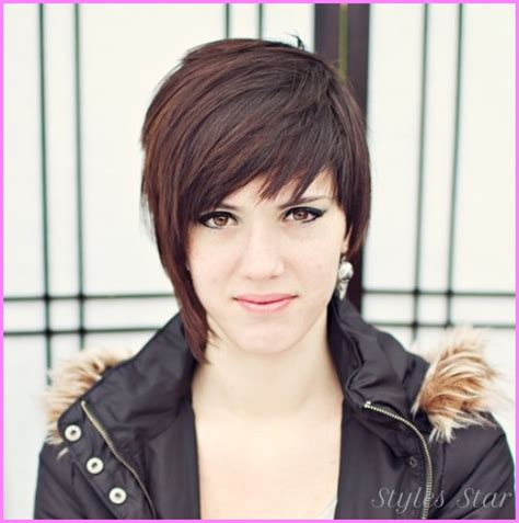 edgy haircuts round faces long edgy haircuts for round faces stylesstar com