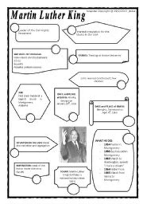 Martin Luther King Jr Math Worksheets by Martin Luther King Worksheet By Sabadini