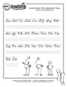 handwriting templates for adults practice penmanship free abc s printable cursive writing