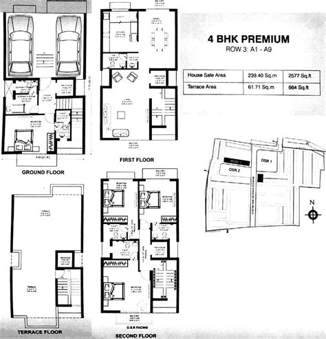 1st floor plan overview growing up in a frank lloyd wright house by kim bixler 2577 sq ft 4 bhk 5t villa for sale in dugar homes growing