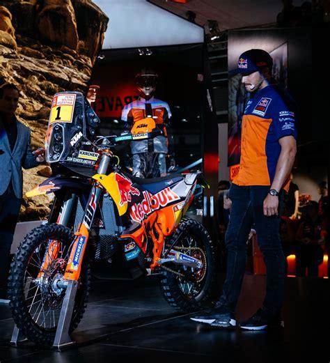 Sam Background Check New Bike For Dakar Winner Sunderland Motohead
