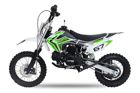 E Kindermotorrad by Cross Bike Nitro 110 12 Quot 14 Quot Automatik E Start